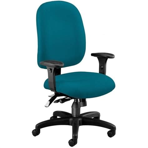 Teal Computer Chair by Ergonomic Task Computer Office Chair In Teal 125 802