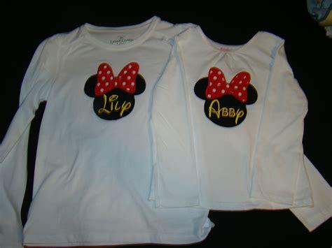 Disney Shirts Same Monogram More Disney Shirts
