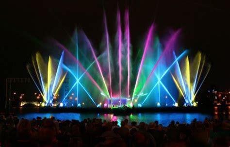 las vegas light show sweet water light show plur