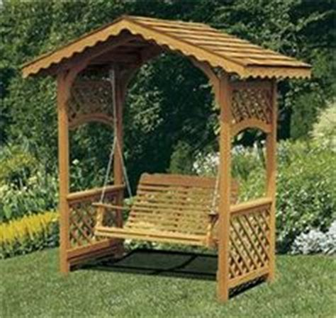 covered swing plans cedar covered garden swing bench seat wood outdoor glider