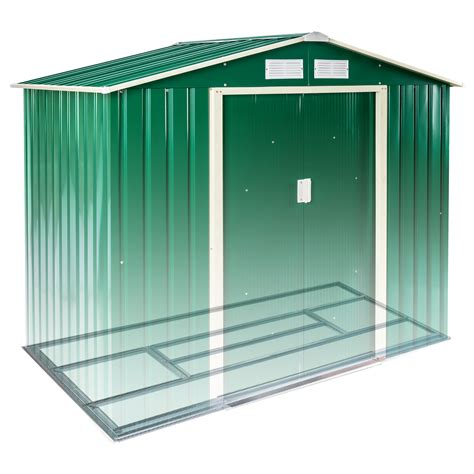 Metal Tool Shed by New Metal Garden Shed Pent Tool Storage Shed House Gabled