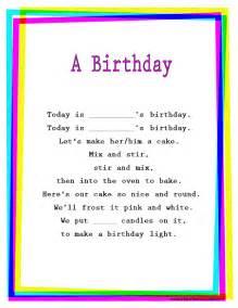 birthday rhymes birthday quotes