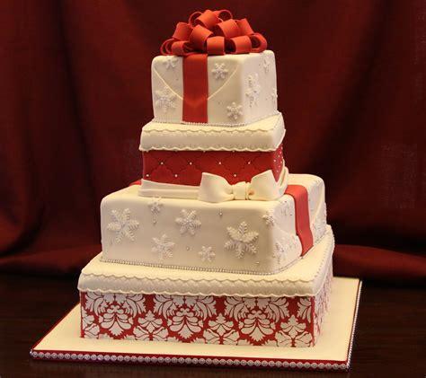 .: Christmas Wedding C ake