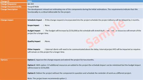 change management process document template change management template excel free templates