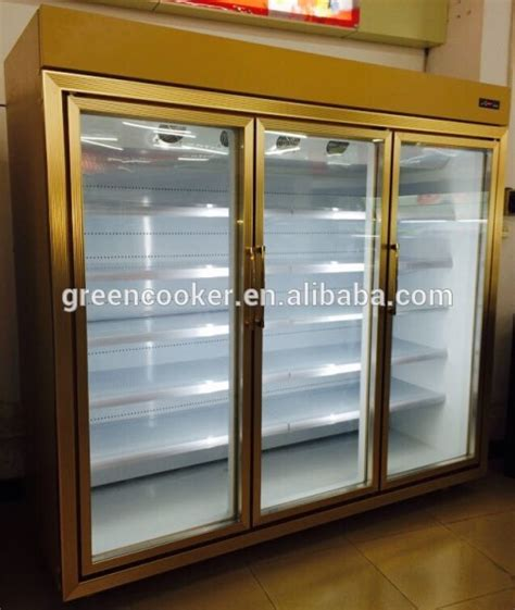 glass front door refrigerator glass door showcase used refrigerator buy front door
