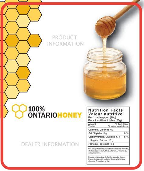 design your own honey label 100 honey labels ontario beekeepers association