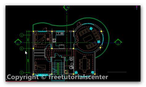 villa layout dwg villa plan autocad project villa plan dwg
