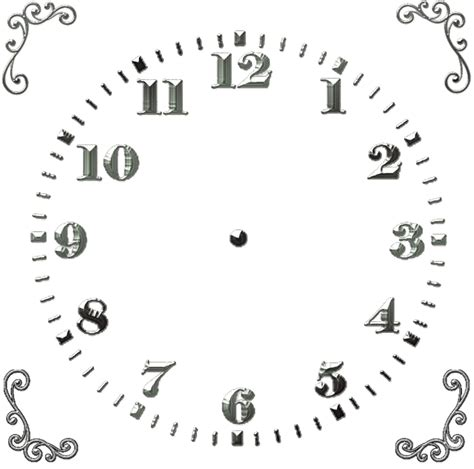 free printable square clock faces tg square clock face images pinterest clock faces