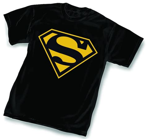 T Shirt Bodyfit Superman Gold gold superman logo www imgkid the image kid has it