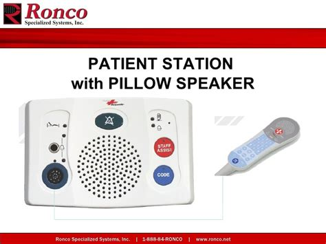 Wireless Tv Pillow Speaker by Msj Hospital