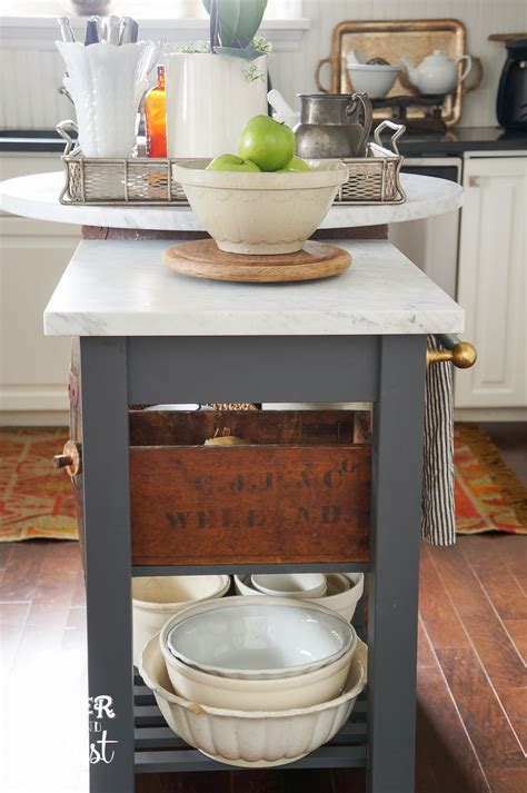 popular ikea kitchen island cart dream home pinterest oliver and rust ikea hacking in the kitchen for more