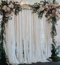 wedding backdrop buy 25 best ideas about curtain backdrop wedding on fabric backdrop wedding photo