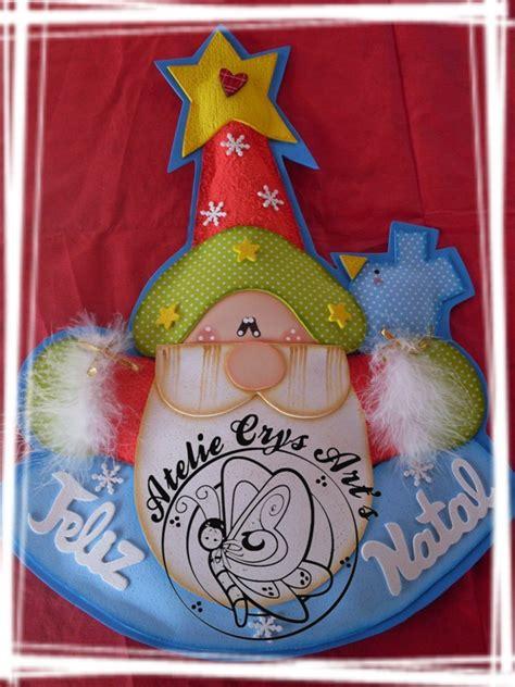 imagenes de navidad hechas en foami adorno papa noel feliz navidad manualidades en goma eva