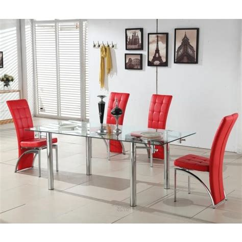 red dining room table red leather dining room chairs shop for cheap tables and