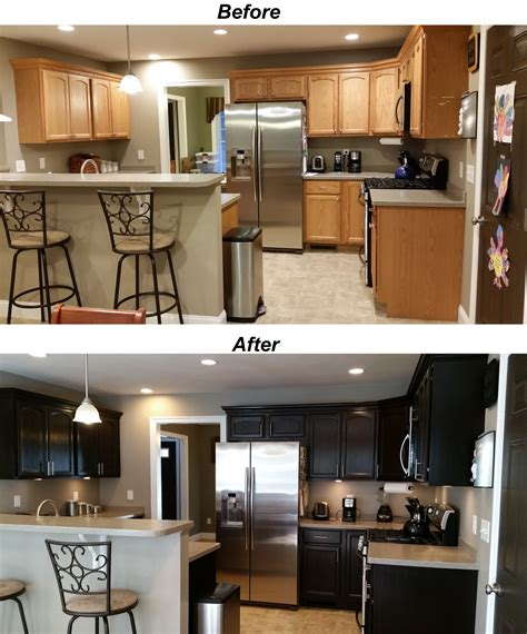 are honey oak cabinets outdated i used general finishes java gel stain to stain my
