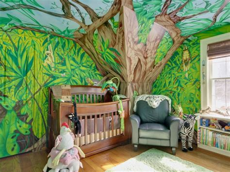 25 cool jungle inspired room designs digsdigs