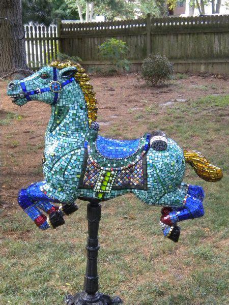 mosaic horse httplometscom