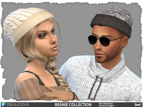 sims 4 beanie beanie collection by devilicious at tsr 187 sims 4 updates