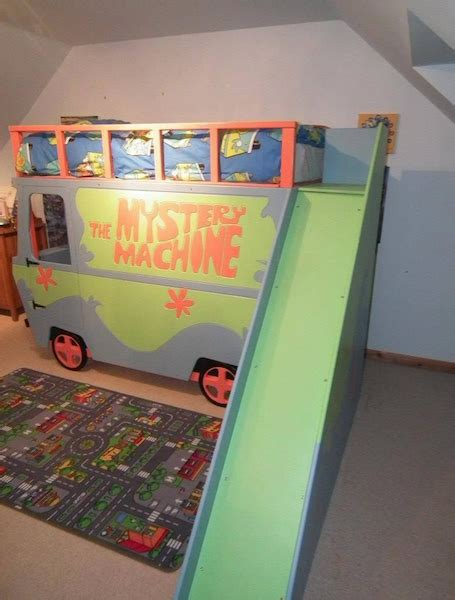 scooby doo bedroom furniture scooby doo mystery machine vehicle bed children s themed
