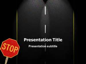 road themes powerpoint ppt templates ppt template for