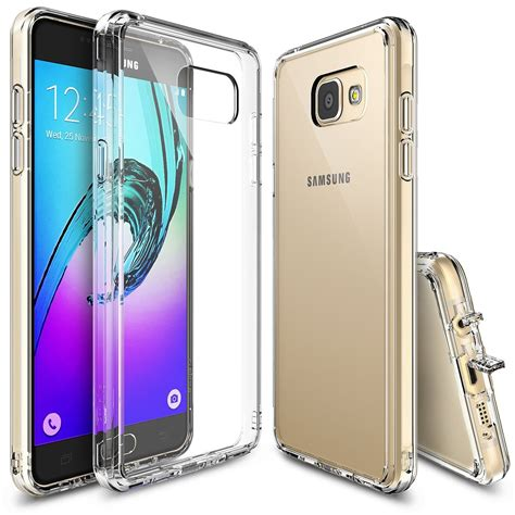 Samsung A3 Ringke Fusion Clear Soft Casing Bumper Cover Keren galaxy a3 2016 ringke 174 fusion clear pc back tpu bumper