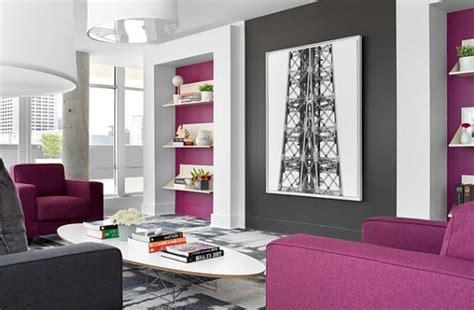 Gemütliches Wohnzimmer Design by Wohnzimmer Grau Lila