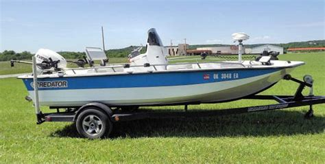 predator boats oklahoma predator boats for sale 2 boats