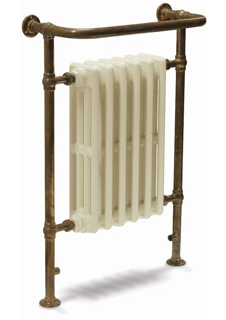 cast iron bathroom radiators broughton towel radiator in copper with 6 section cast