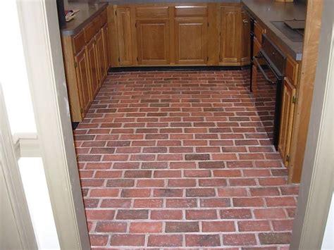 pin by conrad on brick paver kitchen floor