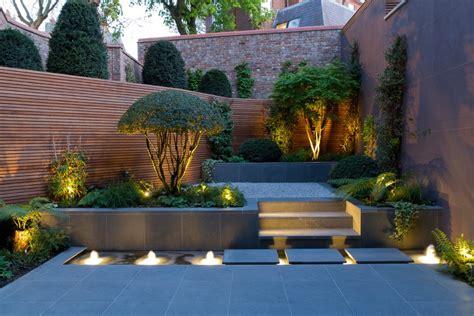 contemporary backyard contemporary garden design with elegant look 16274