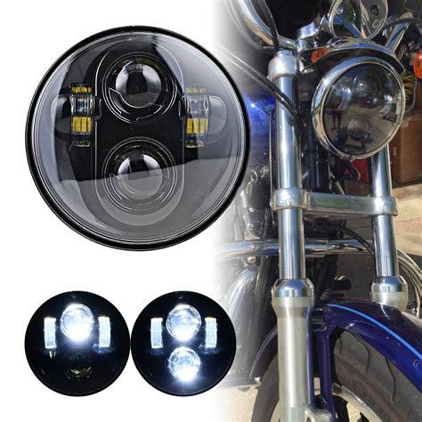 Daymaker Hedlight 5 34 Harley Davidson 5 3 4 quot 40w led projection daymaker headlight hi low beam headlight for harley davidson