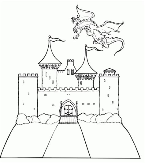 7 Eleven Coloring Page by Get This Castle Coloring Pages For Ys7c6