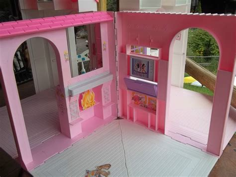 vintage barbie doll house vintage barbie doll house quot mattel folding pretty home quot 24 99 picclick