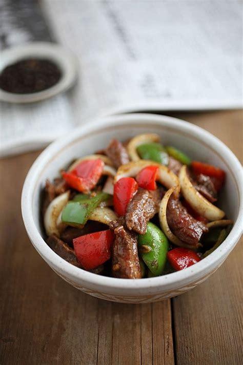 black pepper beef black pepper beef beef and pepper steak on pinterest