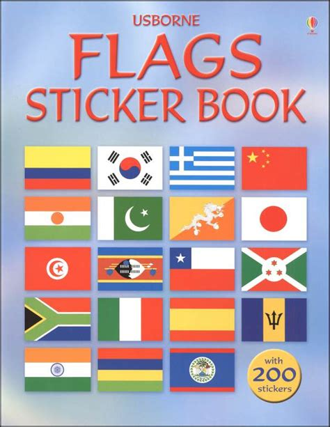 flags of the world book flags sticker book 022001 details rainbow resource
