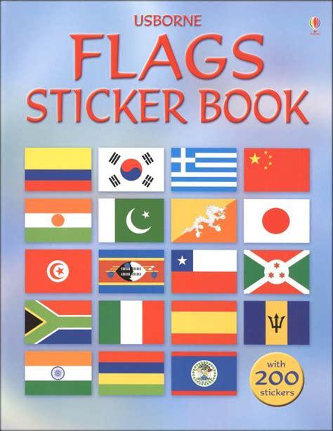 flags sticker book 022001 details rainbow resource