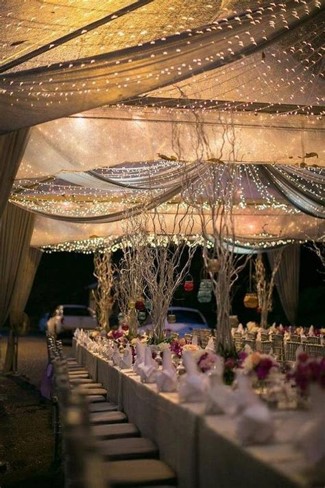 Best 10  Wedding tent decorations ideas on Pinterest