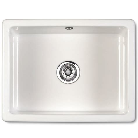 Inset Ceramic Kitchen Sinks Shaws Of Darwen Classic Inset 600 Inset Or Mount Ceramic Kitchen Sink