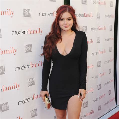 Cosmo Square Dress ariel winter s stunning lace prom dress is to die for
