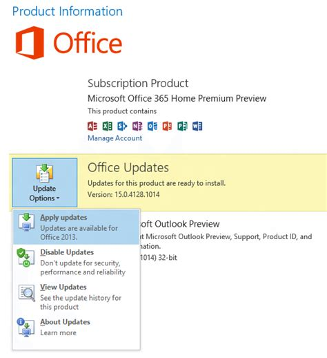 Office 365 Outlook Update How To Update Outlook 2013 Tutorial