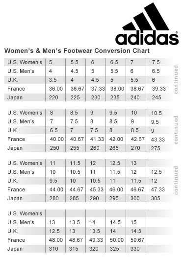 cabelas footwear sizing charts adidas adult