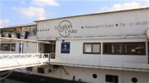 restaurant le salon sur l eau 224 suresnes en vid 233 o