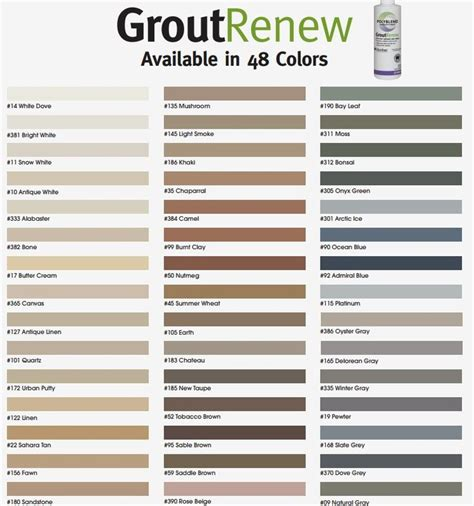grout colors the 25 best grout colors ideas on