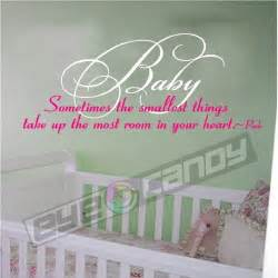 baby wall quotes sayings lettering nursery words