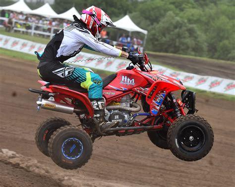 ama atv motocross k n sponsored david haagsma takes personal best pro atv