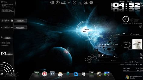 download theme for windows 7 rainmeter image gallery rainmeter themes