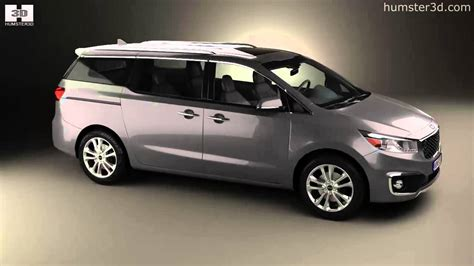 Kia Sedona 2015 Model Kia Sedona Sxl 2015 By 3d Model Store Humster3d