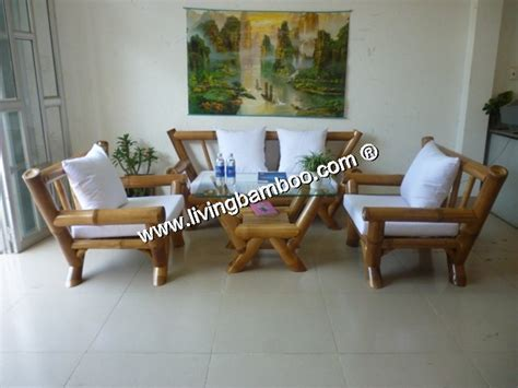 Bamboo Living Room Set Miami Set