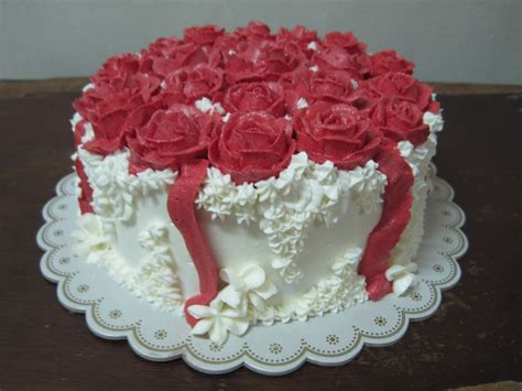 rose themed birthday cake best wide happy birthday cake with red roses hd