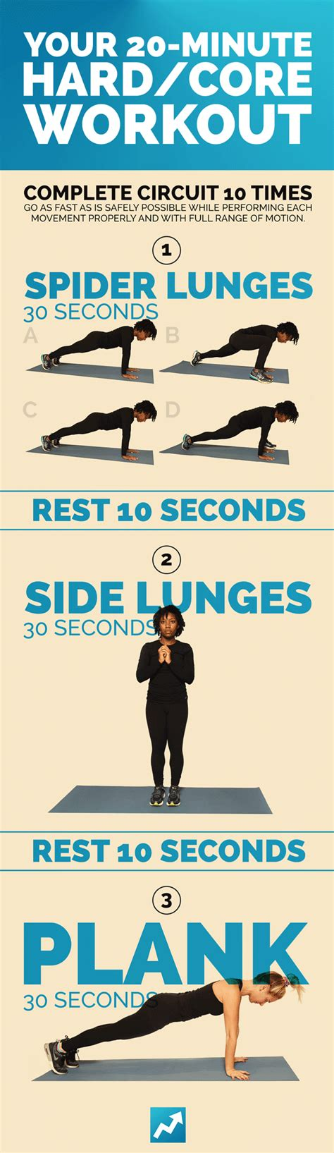 9 total workouts no equipment needed
